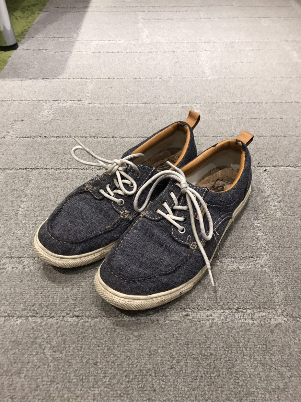 靴の履き間違い