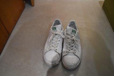 靴の履き間違え
