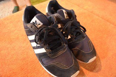 靴の履き間違えです。(8月24日)