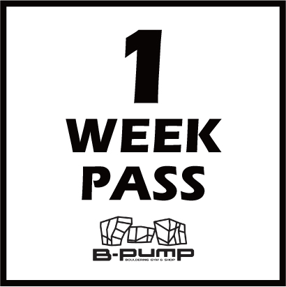 "NEW PASS ""1 WEEK PASS"""