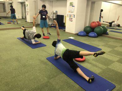 PUMP CLIMBER'S ACADEMY『フィジカルトレーニング』開催中