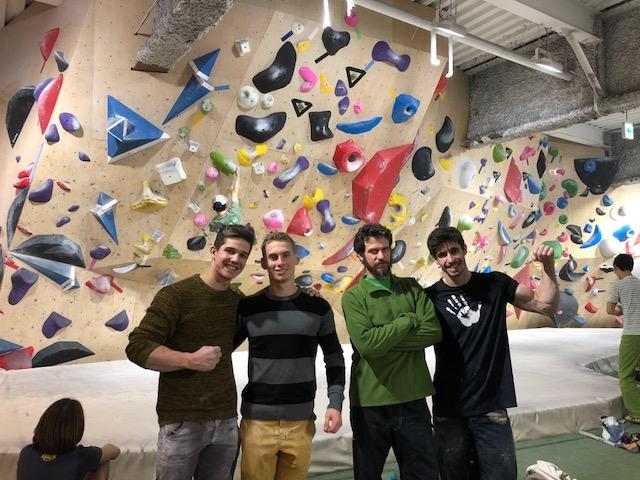 Shalom climber!