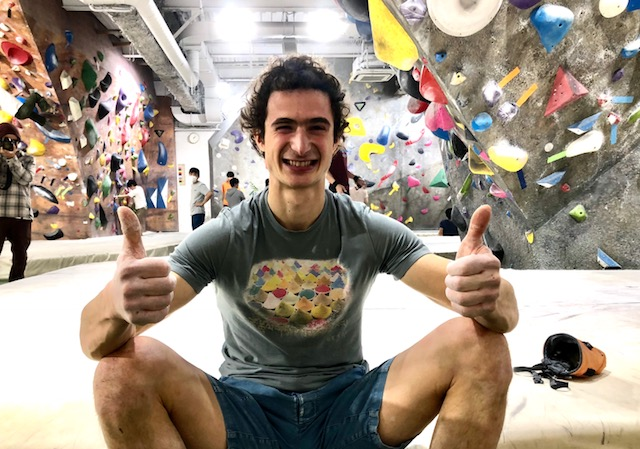 "Adam Ondra ""Tokyo Training Trip"""