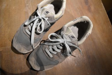 靴の取り間違え