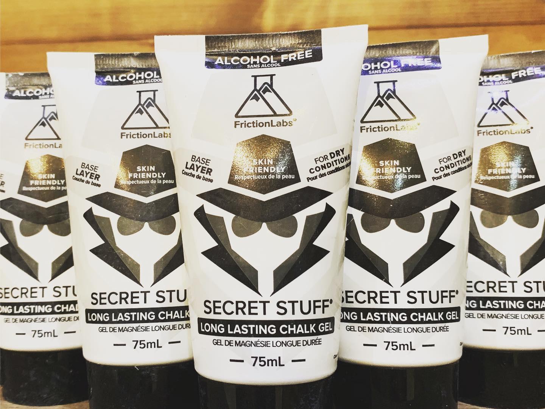 """本日発売!!Secret Stuff Chalk Cream """"Alcohol Free"""""""