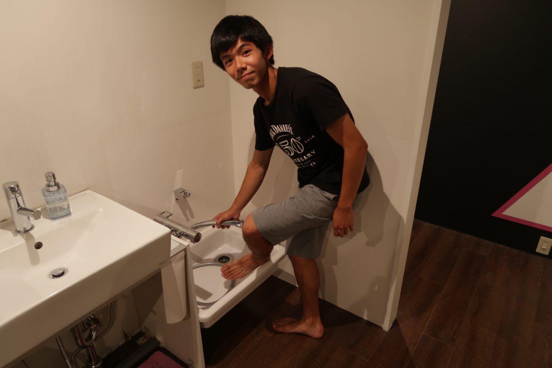 おトイレ改装中につき②